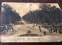 1906 Central Avenue Belle Isle Detroit Michigan View Postcard