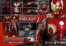 Hot Toys 1/6 MMS278D09 MARK XLIII 43 Iron Man Normal Edition BEST DEAL le moins cher