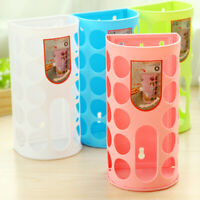 Home Shopping Plastic Carrier Bag Storage Holder Dispenser Rack Decoractio LQI
