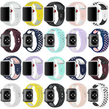 Replacement Silicone For A pple Watch 1/2/3/4 iWatch Sport Band Strap 40mm 44mm