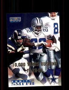 1996 Classic Pro Line #40 Emmitt Smith Dallas Cowboys (10K Version)