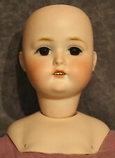 "7"" Eva Mae Bisque vintage doll head -Estate Sale Lot 266"