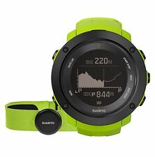 Suunto Ambit3 Vertical Lime HR Multi-Sport GPS Watch - SS021970000