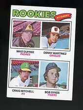 1977 TOPPS #491 ROOKIES PITCHERS