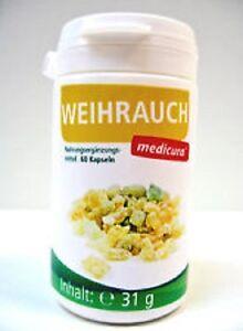 Medicura Weihrauch + Vitamine Plus - 60 Kapseln (40,32€/100g)