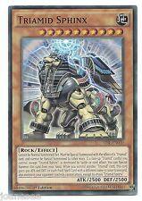 SFINGE triamid tdil-en030 SUPER RARA YU-Gi-Oh card 1st EDIZIONE INGLESE Nuovo di zecca NUOVA