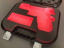 Custom Case Einsatz für Glock Koffer Schaumstoff G17 G22 G20 G21 G37 G31