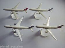 AIRBUS A330-300 AIRLINES 2014 MODEL AIRPLANES SET - KINDER SURPRISE MINIATURES