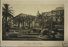 Catedral Plaza de Mayo 12 x 16 Buenos Aires Argentina Photogravure 1922