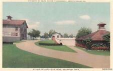 Postcard Stable Entrance + Drive Normandy Farm Gwynedd Valley PA