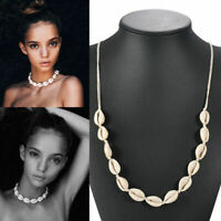 Stylish Beach Bohemian Sea Shell Pendant Choker Chain Fashion Necklace Jewelry