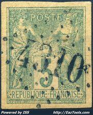 FRANCE TYPE SAGE 5c BELLE OBLITERATION JOUR DE L'AN GC N° 4310