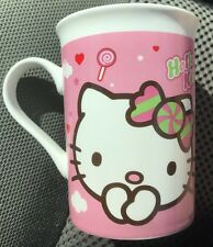 Hello Kitty Candy Theme Coffee Cocoa Tea Mug Cup Ceramic Sanrio Excellent Gift