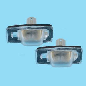 2Pcs License Plate Lamp Light NC1051270B For Mazda 98-05 MPV 00-06 Protege 99-03