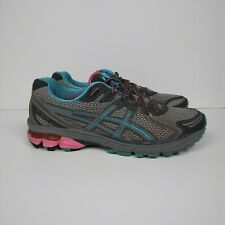 ASICS GT-2170 Trail Running Shoes Gray Blue Pink Women's Size 9.5