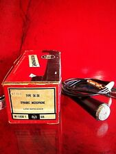 Vintage 1950's RARE RCA SK 30 dynamic microphone old midcentury Low Z