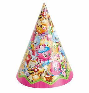 Shopkins Hat Party Hats Decoration Birthday Decoration Party Favor Supplies