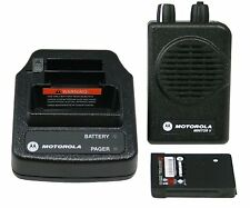 NEW* MOTOROLA MINITOR V 5  PAGER VHF 151-159 MHz 2Ch STORED VOICE - FIRE - EMS