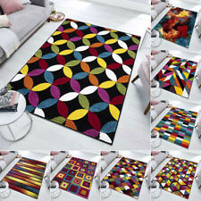 Extra Large Living Room Rug Modern Abstract Small Large Heavy Duty Carpet UK