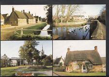 Northamptonshire Postcard - Scenes Around Kettering  MB2343
