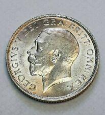 More details for george v.   1914, silver shilling.  scarce.    superb mint condition.