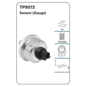 Tridon Oil Pressure Sensor TPS072 fits Lexus LX LX470 (UZJ100R), LX570 (URJ201R)