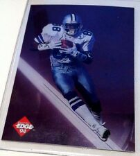 MICHAEL IRVIN 1994 Edge Excalibur 22K Rare ERROR with NO NAME / FOIL Cowboys SSP