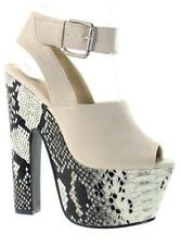 Animal Print Platforms & Wedges Casual Sandals for Women