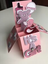 New Baby Girl Pop Up Card