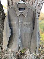 Pelle Pelle Marc Buchanan Denim Jean Jacket Men's Size  XXL