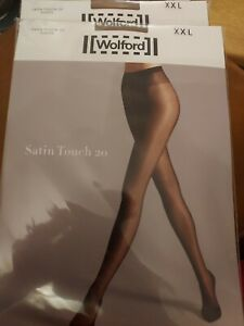 Wolford Satin Touch 20 Tights Para, XXL