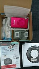 Canon PowerShot ELPH 320 HS 16.1 MP Wi-Fi Digital Camera Red