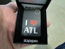 ZIPPO LIGHTER I LOVE ATL  NEW IN BOX