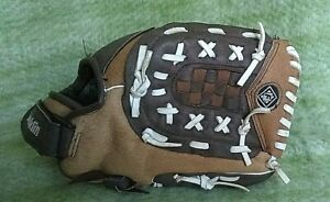 """RTP PRO Franklin 22552-12 Youth 12"""" Ball Glove Right Hand Throw  Leather"""