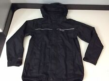 Berghaus Kids Raincoat, Jacket Aq2 Size Age 11-12 Years, Black, Vgc