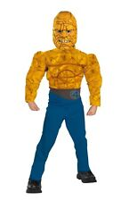 The Thing Muscle Chest Kids Costume Fantastic Four - Size ( Large 10-12 ) 5190