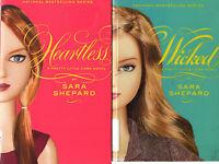 Lot of 4 Pretty Little Liars Series Books 5 6 7 8  Sara Shepard (2nd arc) # 5-8