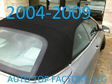 2004-2009 FITS: Mercedes CLK Convertible Top Black Twillfast Canvas