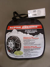 "Alpine Premier  tire chains #1520 ""see listing for tire size fit"""