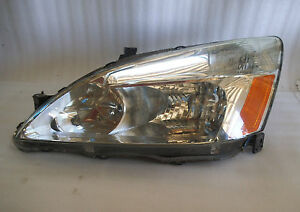 2003 2004 2005 2006 2007 Honda Accord LEFT Driver Side Headlight FACTORY OEM