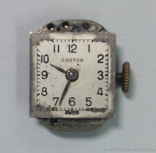 Croton Watch Movement 17 Jewels Cal A3A 667 Parts or Repair
