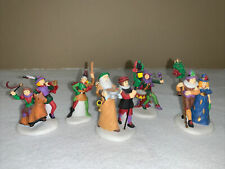 Depte 56 Dickens Village - Here We Come A-Wassailing Set of 5