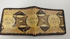 NEW Authentic SNAKE BOA Wallet bi-Fold MenS Billfold Gator Original Slim Pocket