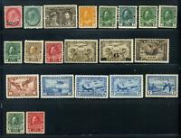 Canada #75/131 & BOB mint NG 1898/1946 Early Canada Selection of No Gum
