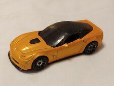 2008 MATCHBOX: Chevy Corvette ZR1 2008. Orange Car . 1/60 MB749