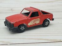 Vintage Red Tootsie Toy Brat Diecast Collectible Pickup Old Truck