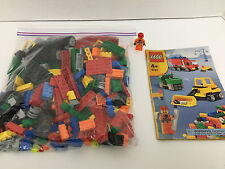 LEGO 6187 - Model Team Road Construction Set - 90+% Complete