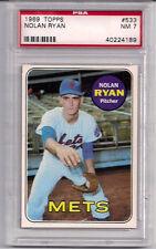 1969 Topps Nolan Ryan #533 PSA 7 NM New York Mets Angels Astros Rangers HOF