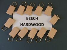 KEYRING BLANKS-SYCAMORE-pyrography,painting-engraving-12 in pack £4.90 POST