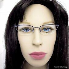 NAF NAF Eyeglasses Frames Purple Metallic Womens NA 7550 003 48-16-130